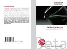 Bookcover of Diffusion Pump