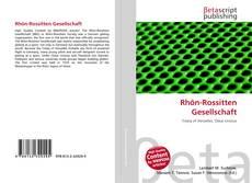 Copertina di Rhön-Rossitten Gesellschaft