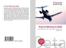 Copertina di Pratt & Whitney R-2000