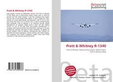 Capa do livro de Pratt & Whitney R-1340