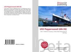 Portada del libro de USS Pepperwood (AN-36)