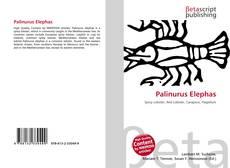 Bookcover of Palinurus Elephas