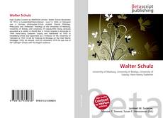 Bookcover of Walter Schulz