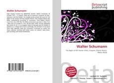 Bookcover of Walter Schumann