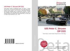 Portada del libro de USS Peter C. Struven (SP-332)