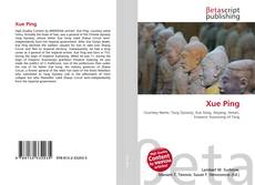 Bookcover of Xue Ping