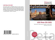 Portada del libro de USS Peto (SS-265)