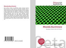 Bookcover of Rhonda Burchmore