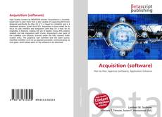 Bookcover of Acquisition (software)