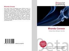Bookcover of Rhonda Corvese