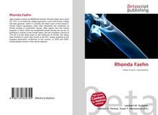 Bookcover of Rhonda Faehn