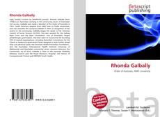 Bookcover of Rhonda Galbally