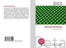 Bookcover of Rhonda Pearlman