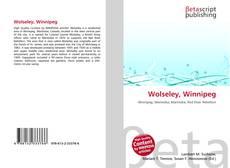 Bookcover of Wolseley, Winnipeg