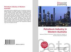 Petroleum Industry in Western Australia的封面