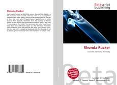 Bookcover of Rhonda Rucker