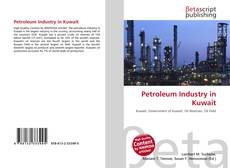 Обложка Petroleum Industry in Kuwait