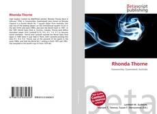 Bookcover of Rhonda Thorne