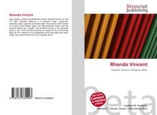 Bookcover of Rhonda Vincent