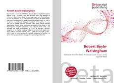Bookcover of Robert Boyle-Walsingham