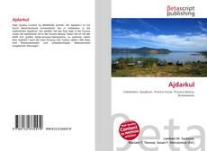 Bookcover of Ajdarkul