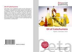 Capa do livro de Oil of Catechumens