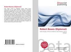 Portada del libro de Robert Bowes (Diplomat)