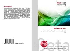 Capa do livro de Robert Boss