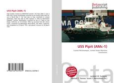 Bookcover of USS Pipit (AMc-1)