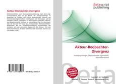 Обложка Akteur-Beobachter-Divergenz