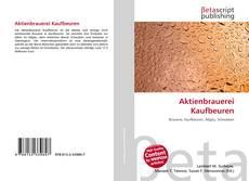 Обложка Aktienbrauerei Kaufbeuren