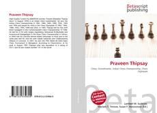 Praveen Thipsay kitap kapağı