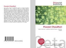 Bookcover of Praveen Chaudhari