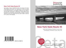 Bookcover of New York State Route 45