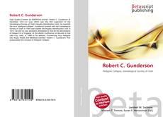 Bookcover of Robert C. Gunderson