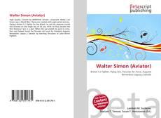 Capa do livro de Walter Simon (Aviator)