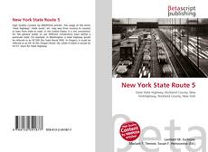 Bookcover of New York State Route 5