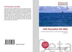 Capa do livro de USS Pomodon (SS-486)