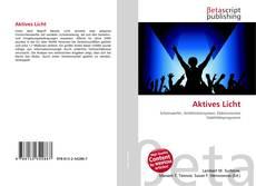 Buchcover von Aktives Licht