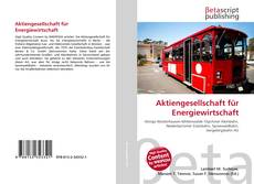 Buchcover von Aktiengesellschaft für Energiewirtschaft