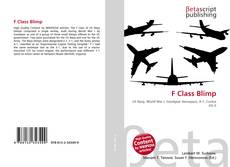 Bookcover of F Class Blimp