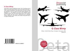 G Class Blimp的封面