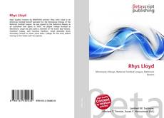 Bookcover of Rhys Lloyd