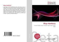 Couverture de Rhys Hanbury