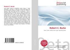 Bookcover of Robert C. Burke