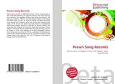 Bookcover of Prawn Song Records