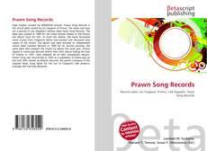 Capa do livro de Prawn Song Records