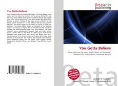 Buchcover von You Gotta Believe
