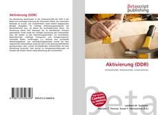 Buchcover von Aktivierung (DDR)