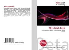 Bookcover of Rhys Goch Eryri